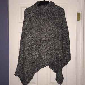 NWT Sweater Poncho Large X Large